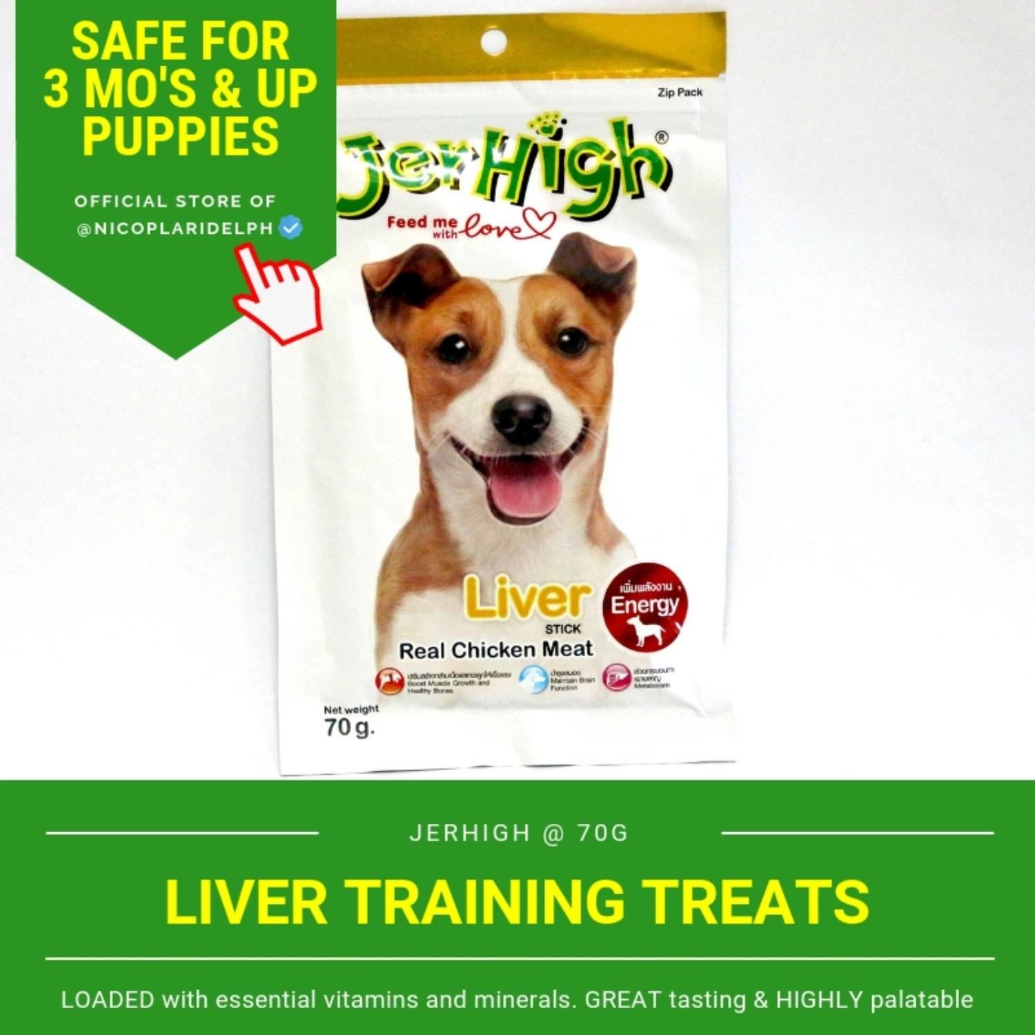Jerhigh Liver Stick With Real Chicken Meat For Puppies And Adult Dogs (70g) By Nicoplaridelph.
