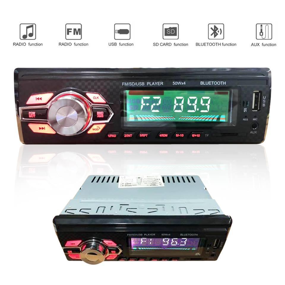 2d44e3abc3e Car Stereo Bluetooth Wireless Digital Media Single-Din in Dash Receivers  USB SD