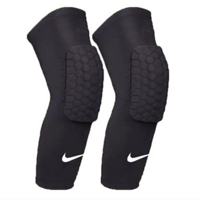 39cea92edc 2pcs MCdavid/NK Black Kneepads Shin Sleeves Sports Basketball Kneepads  Honeycomb Knee Pads Leg kneepad