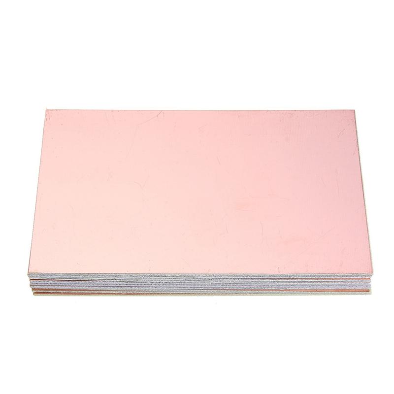 10Pcs 10X15cm Double-Sided PCB Copper Clad Laminate FR4 Fiberglass Board