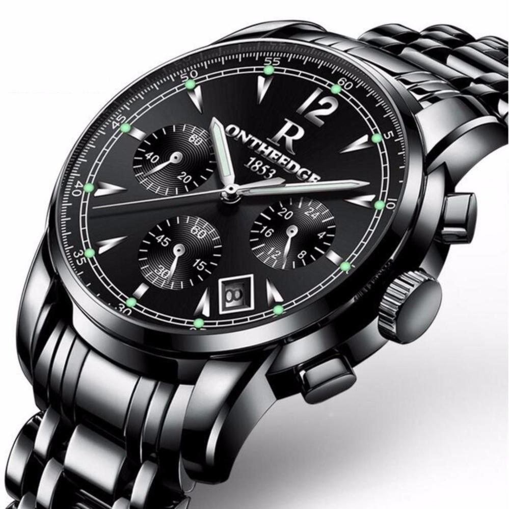 100 Authentic Curren Men S Black Stainless Quartz Business Steel Strap Watch Intl
