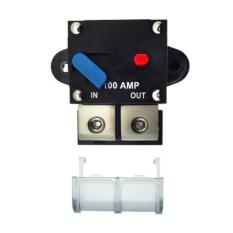 100a Automatic Resettable Fuse Auto Car Circuit Breaker With Reset Switch - Intl By Habuy.