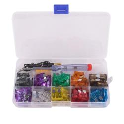 100pcs Blade Fuse Assortment Auto Car Truck Boat Motorcycle Fuses