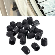 Sway 100pcs Plastic Wheel Tire Valve Stem Caps For Car Bike Truck Motorcycle - Intl By S_way.