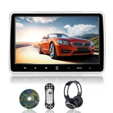10.1 Inch Digital TFT LCD Screen Car Headrest DVD Player HDMI Port W/ Headphone -