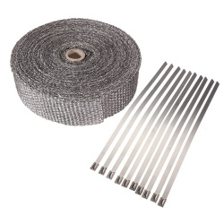 10m Exhaust Header Turbo Pipe Wrap Insulation Tape