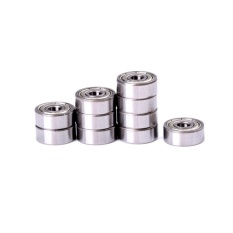 10pcs 4 X 13 X 5mm Shielded Micro Mini Small Wheel Ball Bearings - Intl By Blue Sea.