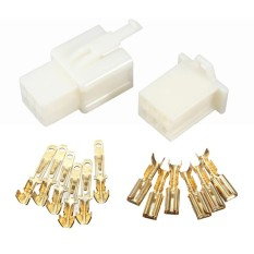 10pcs 6way 2.8mm Mini Connector Kit For Honda Motorcycle Pin Car Terminal Blade - Intl By Sunnny2015.