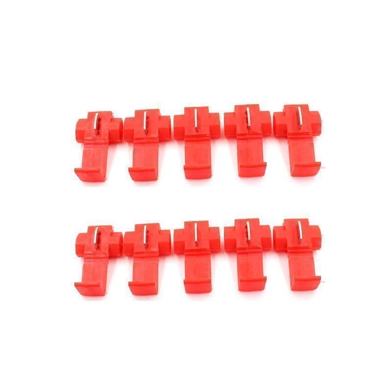 10Pcs Quick Splice Wire Cable Connector Scotch Lock Conductor Block Red product preview, discount at cheapest price