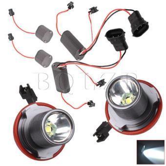 10W LED Angel Eyes Light Set of 2 Black