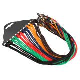 12 Pcs Colorful Eyewear Nylon-Cord Reading Glass Neck Strap Eyeglass Holder