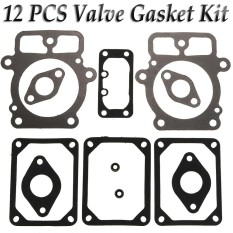 12pcs Mower Lawn Valve Gasket Set For Briggs And Stratton 694013 Replaces 499890 - Intl By Teamtop.