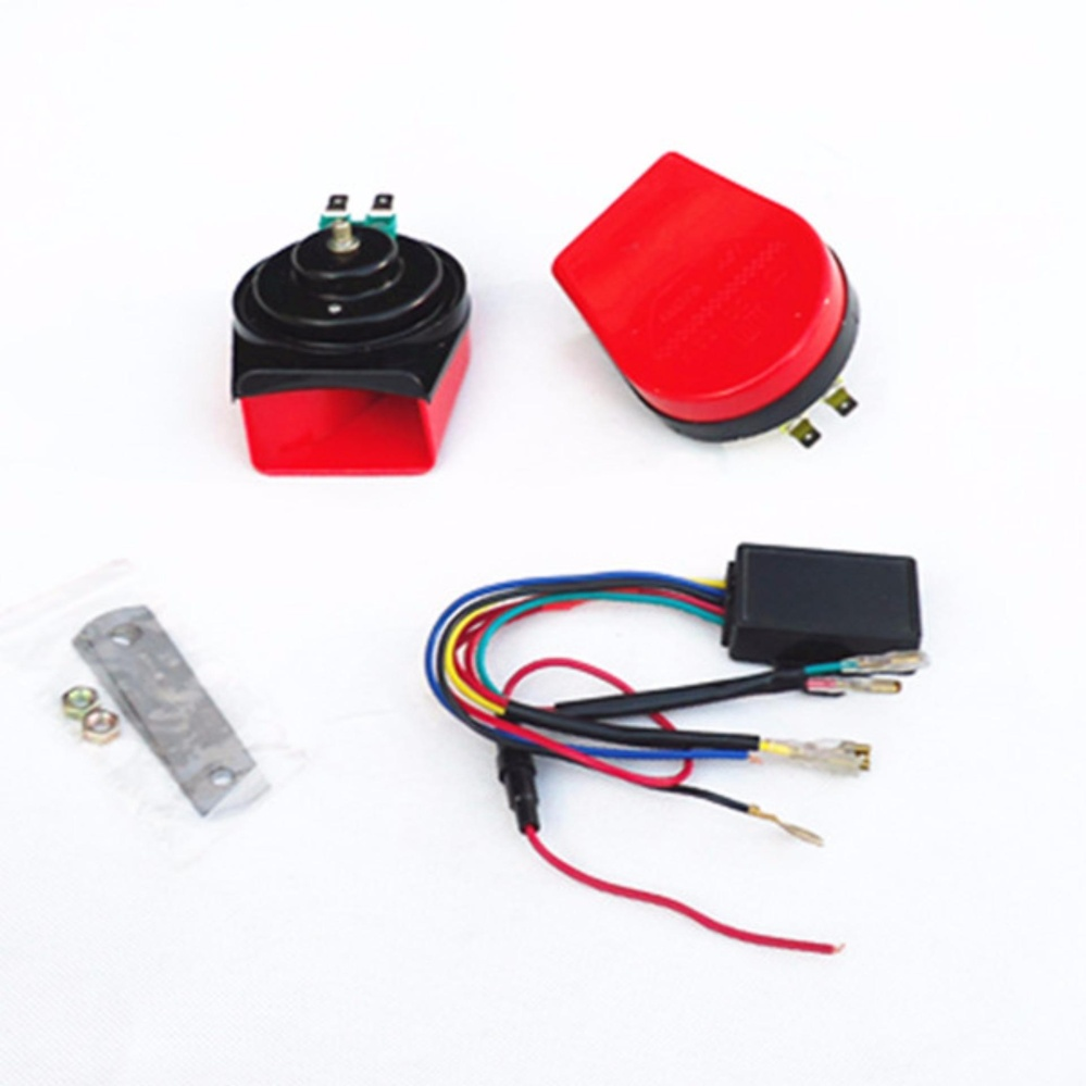 12V 115dB Electric Music Car Horn Claxonmagic 8 Car Sounds Truck Vehicle  Horns Motorcycle Horn