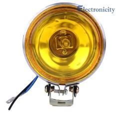 12v 55w Car Fog Light Working Light 3inch Round Lamp Reversing Lights 1200 -1800lm - Intl By Electronicity.