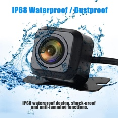 170° Cmos Waterproof Night Vision Car Rear View Reverse Backup Parking Camera Hd - Intl By World Deal.