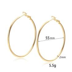1Pair Girls Women Rhinestone Earrings Ear Hook Stud Jewelry - intl