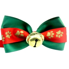 1pc Handmade Christmas Dogs Festival Lace Bow Ties Dog Tie Pet Jewelry Accessories - intl