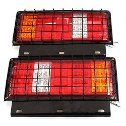 2 x 12v LED Stop Tail Lamps Lights for Trailer Car Truck Van Ute