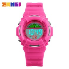 2017 Brand Students LED Digital Watch Boys girls Waterproof Sports Watches Kids Cartoon Jelly Wristwatches -