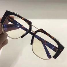 880e9becde 2017 New ACETATE OPTICAL GLASSES man Sunglasses for Jinnnn AERO Eyeware-Leopard  frame Transparent lenses