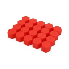 20pcs Car Wheel Lug Nut Bolt Cover Protective Tyre Cap Luminous Covers (red)- Intl By Yueyi Store.