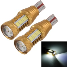 2PC 16W LED T15 4014 Car LED Lamp Chip Support Rear Lamp - intl