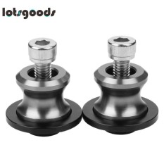 2pcs 10mm Universal Cnc Aluminum Motorcycle Swingarm Spool Slider Stand Screws - Intl By Lotsgoods.