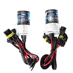 2PCS 55W XENON HID Replacement Light Bulbs H1 30000k 2600LM+-200