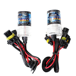 2PCS 55W XENON HID Replacement Light Bulbs H1 3000k 4600LM+-301