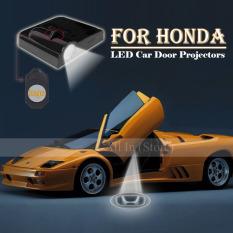 2Pcs Car Door Projector Welcome Lights for HONDA No Drilling Required intl .
