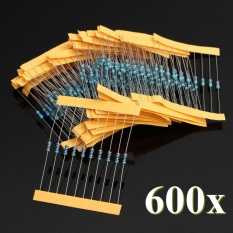 2pcs New Resistors Metal Film 300 Pack, 10 Each 30 Values 1/4w 1% Kit/assortment Chip Set - Intl By Channy.