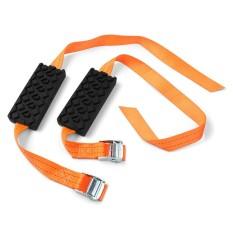 2pcs Tire Chain Belt Tire Mud Chain Hard Wearing Snow Chain - Intl By Teamwin.