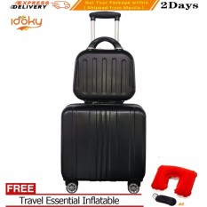 Fast Delivery 2pcs 14 17 Cute Idoky Djx Series Luggage Set Cosmetic