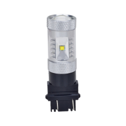3157 DC 12-24V 30W LED Car Brake Light Lamp Bulbs (White)