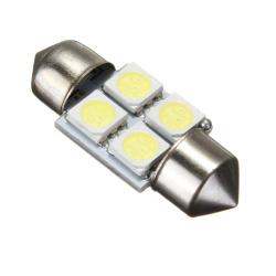 31mm 5050 SMD 4 LED Car Light C5W DC12V (White)