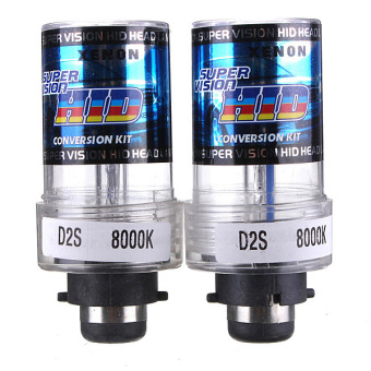 35W D2S Car HID White Xenon Headlight Light Lamp Bulbs 8000K
