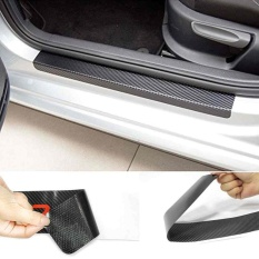 3D Protective Film Car Door Sill Welcome Pedal Decals Stickers Anti Scratch - intl