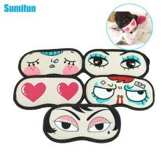 3pcs Kawaii Lovely Soft Sleeping Eye Mask Cartoon Blindfold Shade Portable Travel Help Sleep Aid Cover