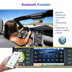 4.1 Screen Car Stereo Mp5 Player Bluetooth Radio Usb Tf Card Aux In 1080p - Intl By Ailsen.