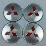 A set of 4x65mm logo wheel hub cover center cover badge logo stickers Suitable for MINI-2