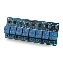 8-Channel 5V Relay Shield Module for Arduino DSP ARM PIC MCU AVR
