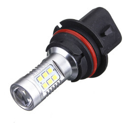 9004 HB1 2835 SMD 21 LED Car DRL Light DC12V Pure White