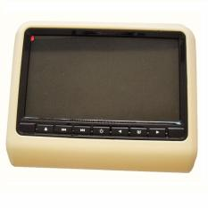 9/10.1 Headrest High Definition Dvd Player (beige) By Mega Dimps Home Appliances.