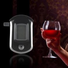 Alc Smart Breath Alcohol Tester Digital Lcd Breathalyzer Analyzer At6000 - Intl By Newkits.
