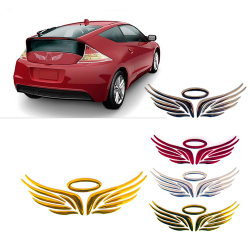 Amango 3D Angel Fairy Wings Car Decal  Red