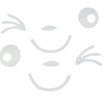 Amango Car Styling Smile Face 3D Sticker