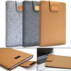Amart Soft Laptop Bag Case Cover Anti-Scratch For 11 Inch Macbook Air Laptop Tablet(khaki) - Intl By Amart.