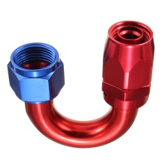An12 -12an Straight Swivel Hose End Fittings Adaptor Aluminum - Intl By Qiaosha.