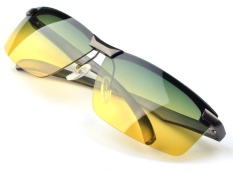 f45a94fba1e1 AORON Brand Day   Night Vison Polarized Sunglasses Men Aluminum Magnesium  Goggles Women Reduce Glare Eyewear