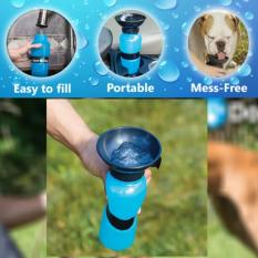 Aqua Dog Water Feeder Bottle (blue) By Jl Beauty.